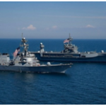 حضور منظم کشتیهای آمریکایی در دریای بالتیک و دریای سیاه و احتمال تنش با ناوهای روسی