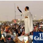 زنی سفیدپوش، سمبل حامیان انقلاب در سودان